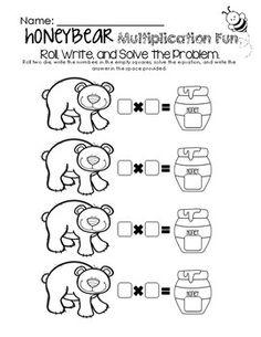 Kumon Multiplication Worksheets Word Honey Bear Addition  Subtraction Fun Worksheet Freebie Visit Www  Common Core Fourth Grade Math Worksheets with Simple And Compound Subjects Worksheets Excel Honey Bear Math Fun  Multiplication Worksheet Freebie Visit  Wwwlittlelearninglanecom For Preschool Writing Worksheets Free