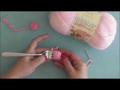 ▶ How To: Make a Pompom with a Fork - YouTube