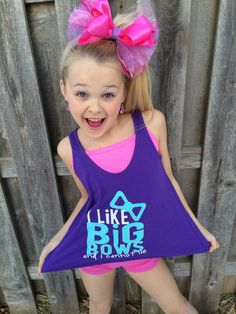 I want to get this for Evelyn!!  Purple Pixies - I Like Big Bows -Designed by JoJo Siwa, $30.00 (http://shop.purplepixies.net/jojo)