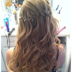 My hair for prom!