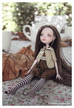 Amber (OOAK MH doll) by ~Lunai on deviantART