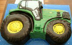 John Deere tractor cake, via Flickr.
