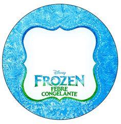 Con estos adornos de Frozen Fever para una mesa dulce, o candy bar temático, tus invitados quedarán realmente sorprendidos, ya que contarás con unos diseños muy bonitos, y originales, Elsa y Anna s…