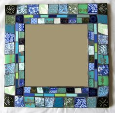 Smashing China Mosaics. Colour balance and size of pieces is just right!