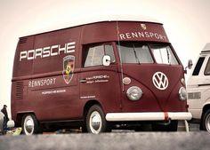 Thats actually a joke I get cuz Ferdinand Porsche created Porsche and VW Volkswagen Transporter, Volkswagen Bus, Vw T1, Vw Camper, Kombi Pick Up, Banquette Convertible, Vw Logo, Vehicle Signage, Vw Vintage