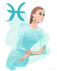 Horoscope for Cosmopolitan on Behance