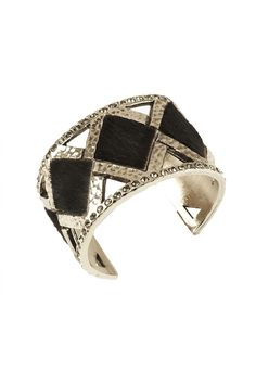 Aspen Cuff with hair on hide from Pame Designs  www.pamedesigns.com