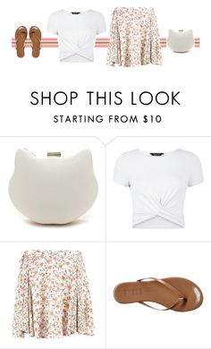 """""""Cute clutch"""" by blueeyed-dreamer ❤ liked on Polyvore featuring New Look and Tkees"""