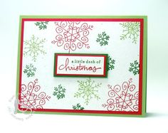 Endless Wishes 1, Mike Funke, Christmas, greeting card, snowflakes