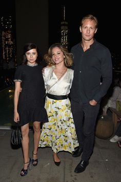 "Alexander Skarsgard Photos - Bel Powley,Margarita Levieva and Alexander Skarsgard attend the after party for the screening of Sony Pictures Classics ""The Diary Of A Teenage Girl"" Hosed by The Cinema Society at Jimmy At The James Hotel on August 5, 2015 in New York City. - Screening of 'The Diary of a Teenage Girl'"