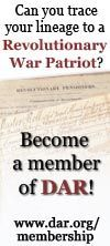 Daughters of the American Revolution - genealogy search