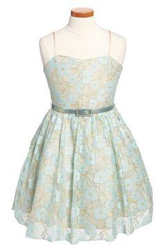 Un Deux Trois Lace Party Dress (Big Girls) available at #Nordstrom