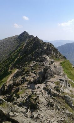 Striding Edge, Helvellyn, Cumbria