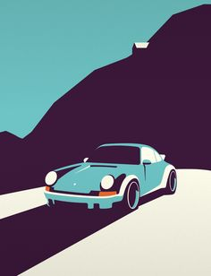 The Porsche 911 is printed on natural white matte fine art paper that produces rich, vibrant colour contrast for a true quality piece of art. Designed and Printed in the U. Porsche 911 Cabriolet, Porsche 911 Targa, Porche 911, Porsche Cars, Car Prints, Car Vector, Car Design Sketch, Carrera, Car Illustration