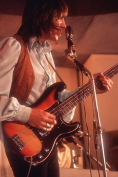 Roger Waters.  Bass player for Pink Floyd.