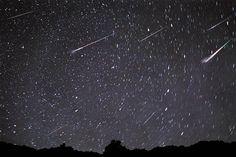Chuva de meteoros: Um dos mais surpreendentes fenômenos naturais do universo.