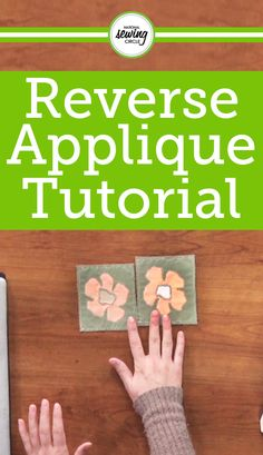 Ashley Briggs demonstrates how to make reverse applique as well as how to add element to your projects through utilizing reverse applique. Use these helpful tips and techniques to advance your projects and create a successful product. Ashley demonstrates how to apply reverse applique to a bag.