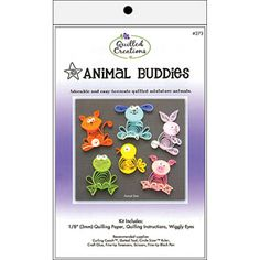 Quilled Creations Animal Buddies Quilling Kit, this would be so cute. $7.89