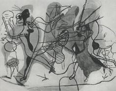 Georges Braque - Sur la plage. 1931
