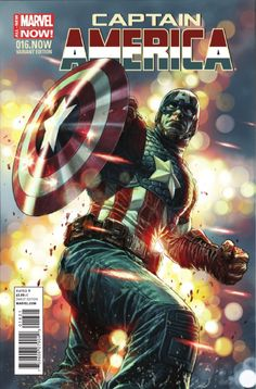 Marvel Comics previews for February 5, 2014: Captain America #16.Now variant cover