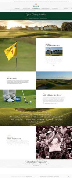 Rolex #webdesign #luxury #watches