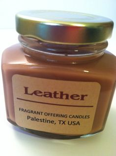 Want more leather scented candles