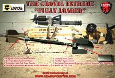 """The Crovel Extreme, the """"The Ultimate Survival Tool"""""""