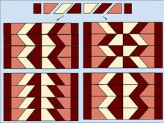 Cutting board pattern