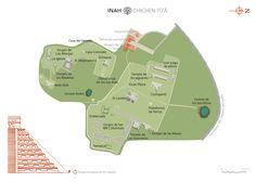Chichen Itzá Map