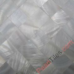 Seamless Pure White Shell Tiles Mother Of Pearl Mosaic Tiles