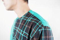 Details BROWN Long Tartan in Half 'Le Meridien'  #menfashion #ghaisaniyara #fashion