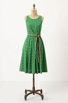 Anthropologie Grass Court Dress. I can't wait to try this on in London next month...