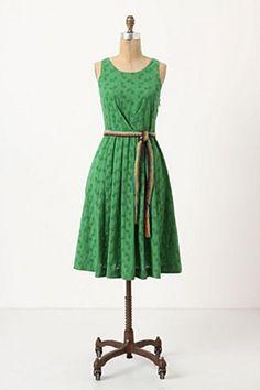 Anthropologie - SS12 Grass Court Dress by Moulinette Soeurs