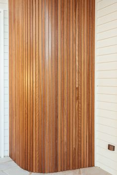 Backyard Reveal - Kyal & Kara : Kyal & Kara Stone Cladding, Timber Cladding, Large Round Ottoman, Stacker Doors, Kyal And Kara, Beaumont Tiles, Freedom Furniture, Timber Beams, Entry Gates