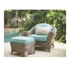 Wicker Lounge Chair Set