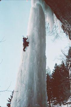 Fang in Veil Colorado, an Ice Climbing Challenge