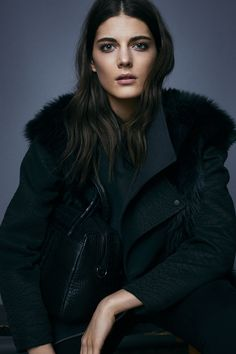 #ALLSAINTS: Women's Holiday Lookbook 2014...surely love their clothes...but the make up amazed me!!
