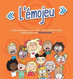 Présenté sous la forme d'un plateau de jeu accompagné de 16 cartons d'émotions (« Je me sens ») et de 16 cartons de désirs (« J'aimerais »), l'émojeu aide l'enfant à bien comprendre ses émotions et à mettre des mots sur ce qu'il ressent, contribuant ainsi au développement des habiletés qui faciliteront l'adoption de comportements positifs à l'école.