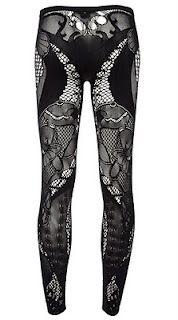 alexander macqueen lace legging