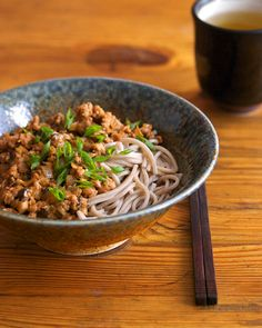 Minced Pork and Shiitake Noodles | Appetite for China... makes me miss my CCG friends...