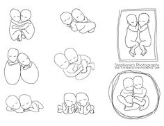 Twin Newborn Posing Reference Guide | Gatineau Ottawa Newborn Photographer | Stephanie's Photographs
