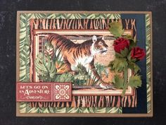 Cards, Cards, and More Cards` Beautiful Roses Bouquet, Red Rose Bouquet, Bouquet Flowers, Black Architecture, Travel Album, Safari Adventure, Mini Album Tutorial, Adventure Photos, New Safari