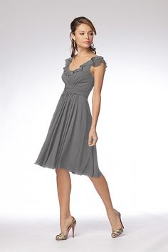 Pretty bridesmaid dress option, should be flattering for most I think