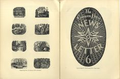 Woodcuts by Eric Ravilious