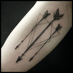 Arrow Tattoo Ideas for Guys                              …