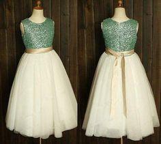 """Ember"" Made-to-Order Girls Dress"