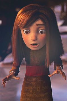 so much detail was put into this movie...I mean, look at her eyes! her face! even her hands and dress!!! <3