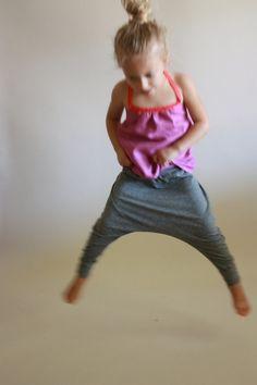 best harem pants / boys & girls / pdf sewing por toosweetspatterns