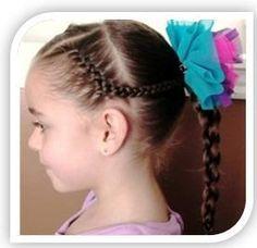 peinados faciles para el kinder , Buscar con Google