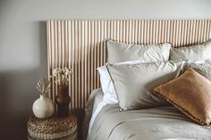 Bed Headboard Design, Headboards For Beds, Headboard Ideas, Diy Headboard Wood, Modern Headboard, Home Bedroom, Bedroom Decor, Bedrooms, Diy Home